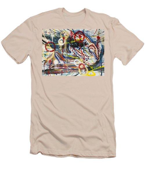 Metronomes Men's T-Shirt (Slim Fit) by Sheridan Furrer