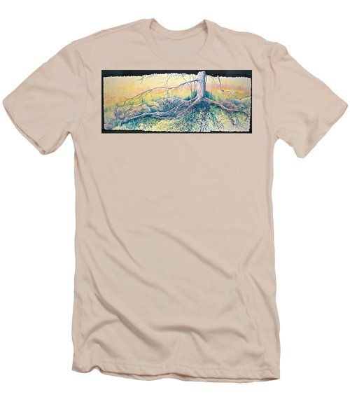 Rooted In Time Men's T-Shirt (Athletic Fit)