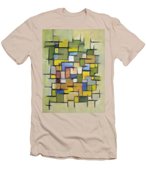 2012 Abstract Line Series Xx Men's T-Shirt (Slim Fit) by Patricia Cleasby
