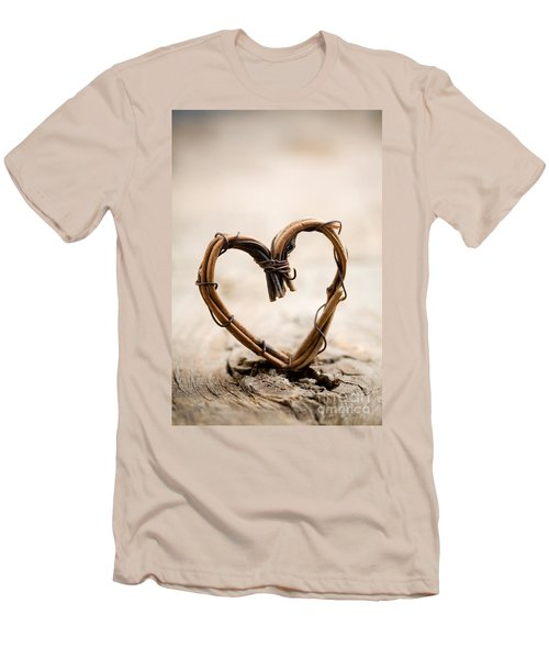 Valentine Heart Men's T-Shirt (Athletic Fit)