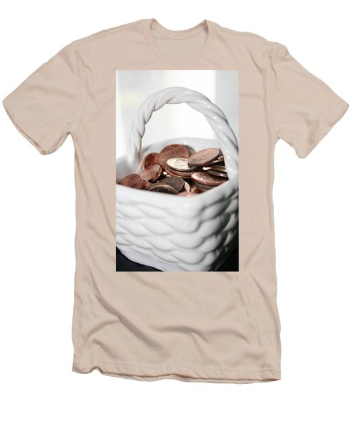 A Basket Of Pennies Men's T-Shirt (Athletic Fit)