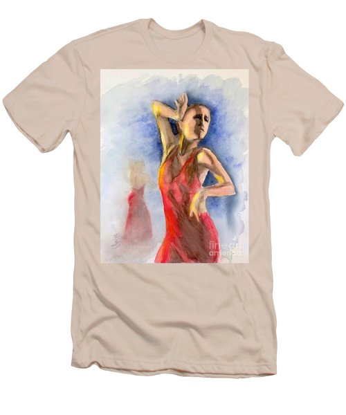 A Flamenco Dancer  2 Men's T-Shirt (Athletic Fit)