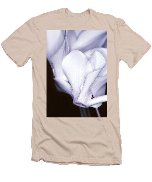 Silky Cyclamen Flowers Men's T-Shirt (Athletic Fit)