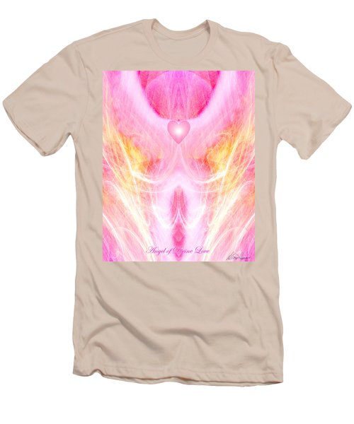 Angel Of Divine Love Men's T-Shirt (Athletic Fit)