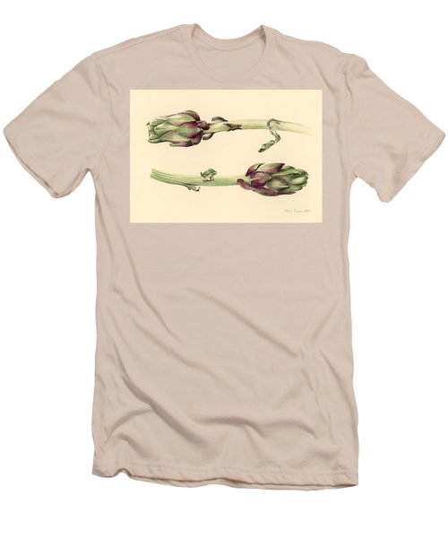 Artichokes Men's T-Shirt (Athletic Fit)