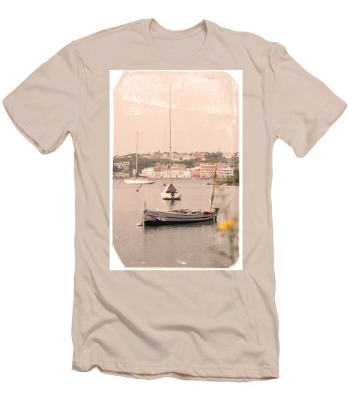 Men's T-Shirt (Slim Fit) featuring the photograph Barbara by Pedro Cardona