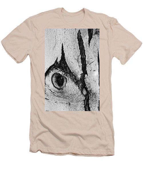 Bark Eye Men's T-Shirt (Slim Fit) by Colleen Coccia