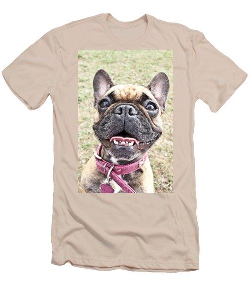 Best Friend Men's T-Shirt (Slim Fit) by Jeannette Hunt