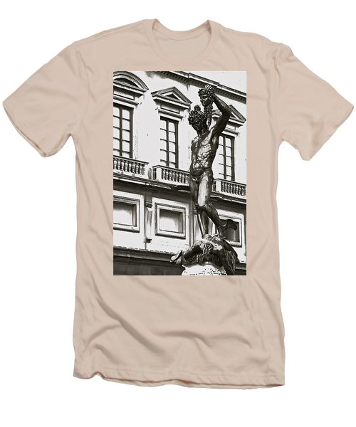 Men's T-Shirt (Slim Fit) featuring the photograph Bronze Icon by Eric Tressler