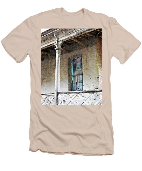 Men's T-Shirt (Slim Fit) featuring the photograph Civil War Hospital Memphis by Lizi Beard-Ward