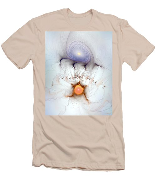 Men's T-Shirt (Slim Fit) featuring the digital art Coexistence by Casey Kotas