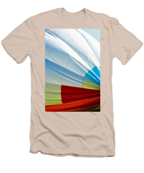 Deflating Men's T-Shirt (Slim Fit) by Colleen Coccia
