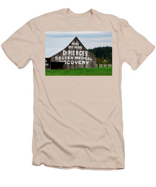 Dr. Pierce Barn 110514.98.1 Men's T-Shirt (Athletic Fit)