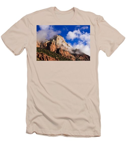 Early Morning Zion National Park Men's T-Shirt (Athletic Fit)