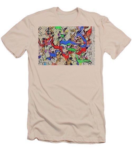 Fabric Of Life Men's T-Shirt (Slim Fit) by Alec Drake