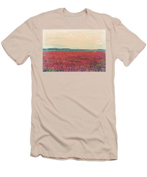 Fields Of Heaven Men's T-Shirt (Slim Fit) by Leanna Lomanski