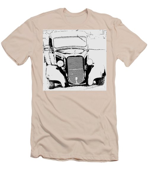 Good Ole Days Men's T-Shirt (Slim Fit) by Greg Moores