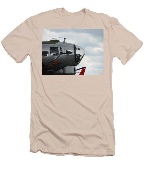 Guns Everywhere Men's T-Shirt (Slim Fit) by Randy J Heath