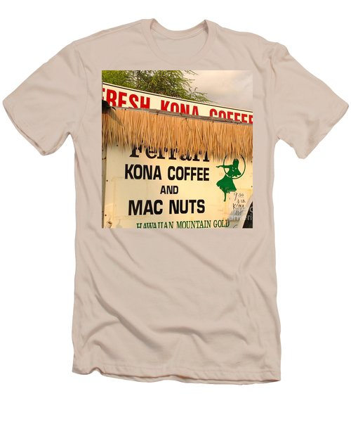 Men's T-Shirt (Slim Fit) featuring the photograph Hawaiian Food Truck by Beth Saffer