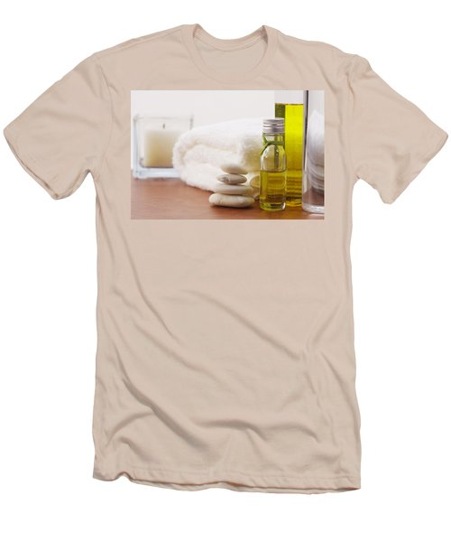 Health Spa Men's T-Shirt (Slim Fit) by Atiketta Sangasaeng
