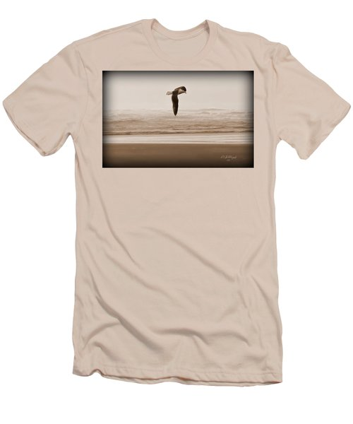 Men's T-Shirt (Slim Fit) featuring the photograph Jonathon by Jeanette C Landstrom