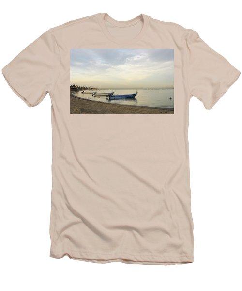 La Paz Waterfront Men's T-Shirt (Slim Fit) by Anne Mott