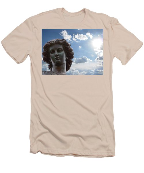 Lady Of The Waters Men's T-Shirt (Slim Fit) by Sarah McKoy