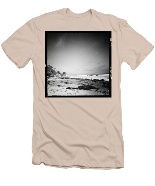 Men's T-Shirt (Slim Fit) featuring the photograph Malibu Peace And Tranquility by Nina Prommer