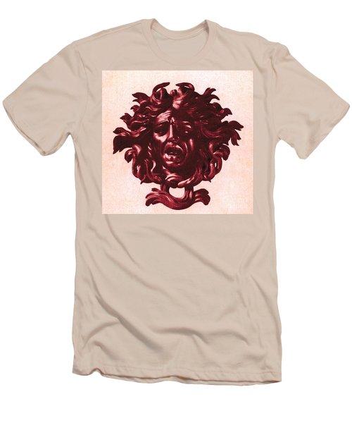 Medusa Head Men's T-Shirt (Slim Fit) by Photo Researchers