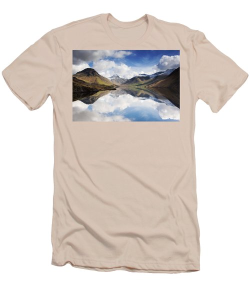 Mountains And Lake, Lake District Men's T-Shirt (Athletic Fit)