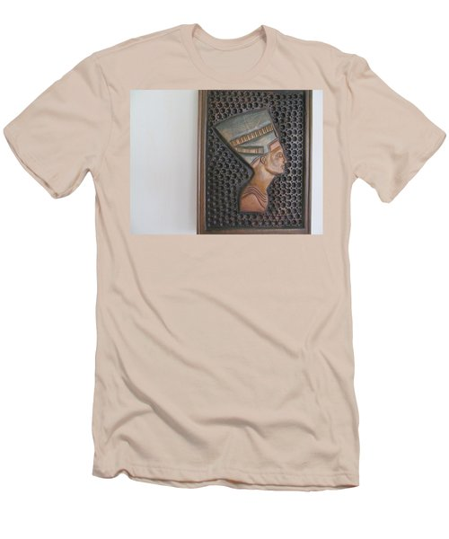Men's T-Shirt (Slim Fit) featuring the photograph Nefertiti As Is by Tina M Wenger