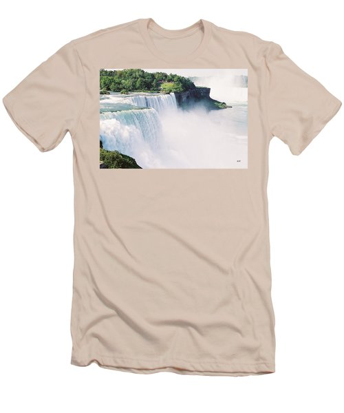 Niagara Falls Men's T-Shirt (Athletic Fit)
