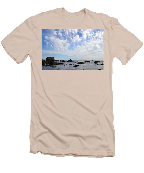 Northern California Coast1 Men's T-Shirt (Athletic Fit)