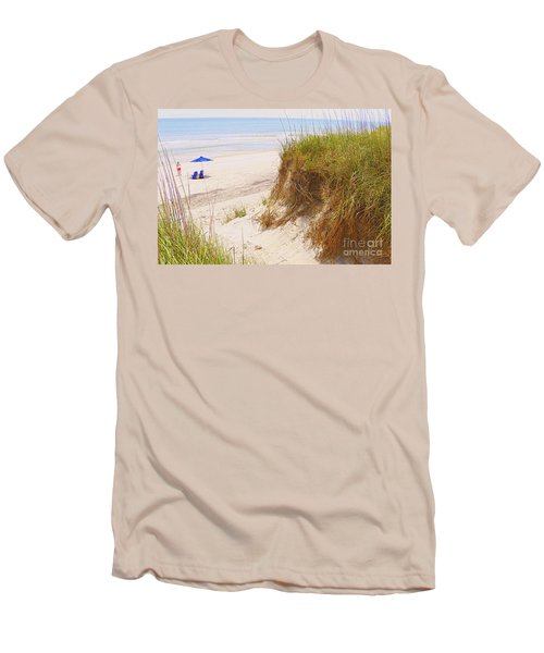 Men's T-Shirt (Slim Fit) featuring the photograph Outerbanks by Lydia Holly