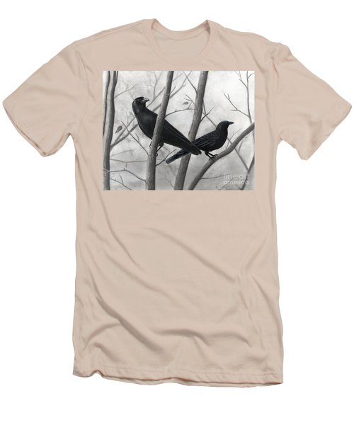 Pair Of Crows Men's T-Shirt (Athletic Fit)