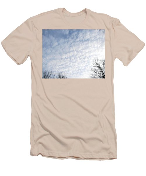Men's T-Shirt (Slim Fit) featuring the photograph Reaching The Clouds by Pamela Hyde Wilson