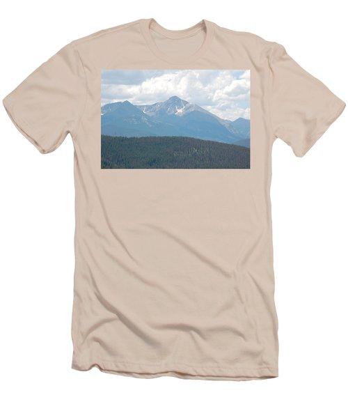 Rocky Mountain High Men's T-Shirt (Slim Fit) by Randy J Heath