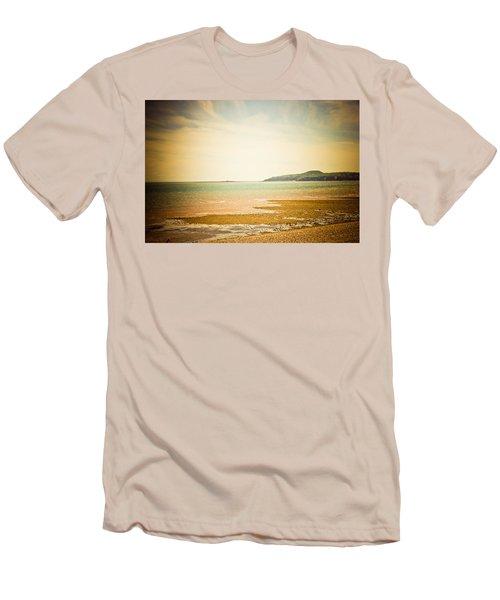 Serenity Men's T-Shirt (Slim Fit) by Sara Frank