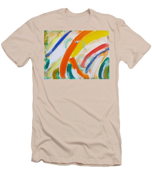 Men's T-Shirt (Slim Fit) featuring the painting Souls by Sonali Gangane