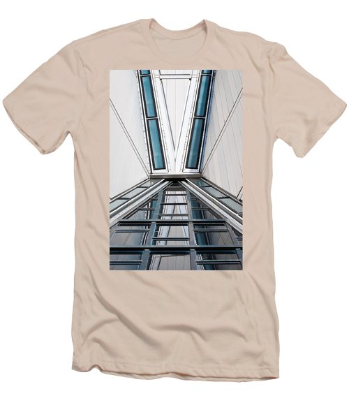 Structure Reflections Men's T-Shirt (Slim Fit) by Colleen Coccia