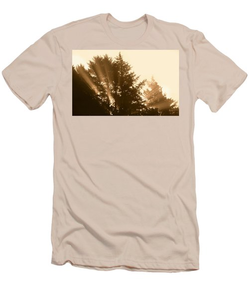 Sunrise In Sepia Men's T-Shirt (Athletic Fit)