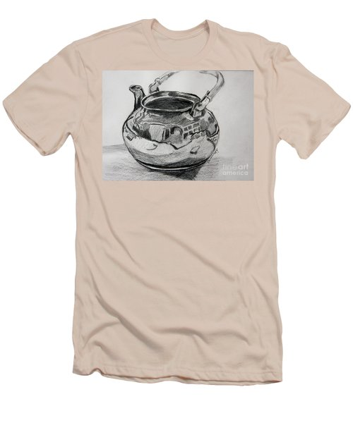 Teapot Reflections Men's T-Shirt (Athletic Fit)