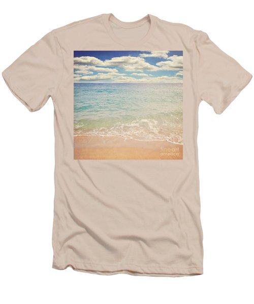 The Beach Men's T-Shirt (Slim Fit) by Lyn Randle