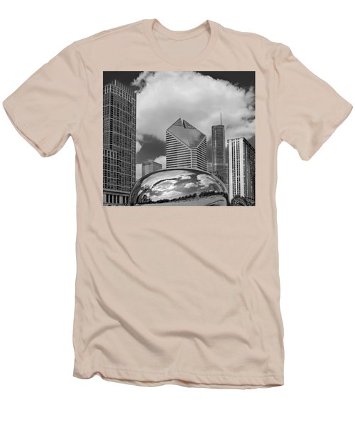 The Bean Chicago Illinois Men's T-Shirt (Athletic Fit)