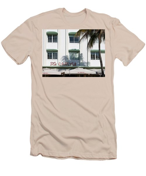 The Carlyle Hotel 2. Miami. Fl. Usa Men's T-Shirt (Athletic Fit)