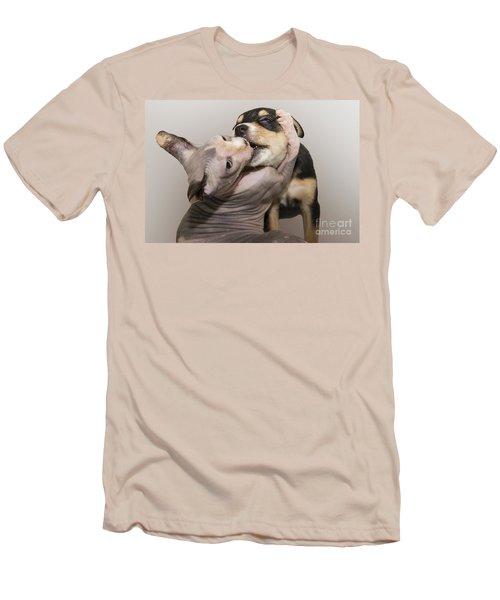 The Embrace Men's T-Shirt (Athletic Fit)