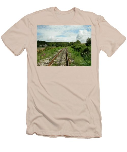Traveling Towards One's Dream Men's T-Shirt (Athletic Fit)