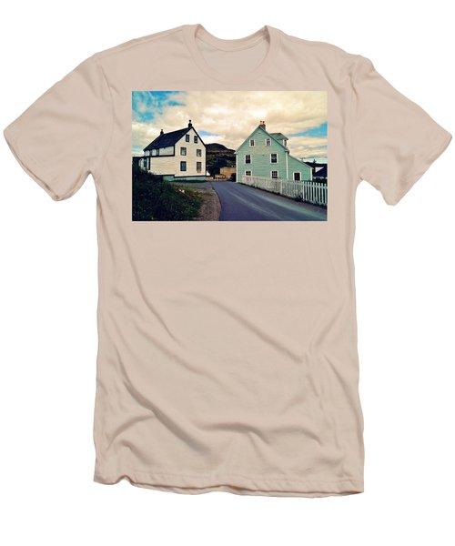 Trinity I Men's T-Shirt (Slim Fit) by Leanna Lomanski