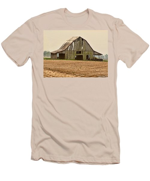 Men's T-Shirt (Slim Fit) featuring the photograph Vanishing American Icon by Debbie Portwood