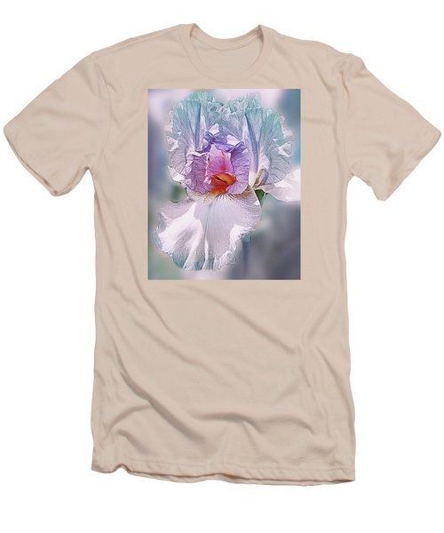 Men's T-Shirt (Slim Fit) featuring the digital art Warm Hearted by Mary Almond